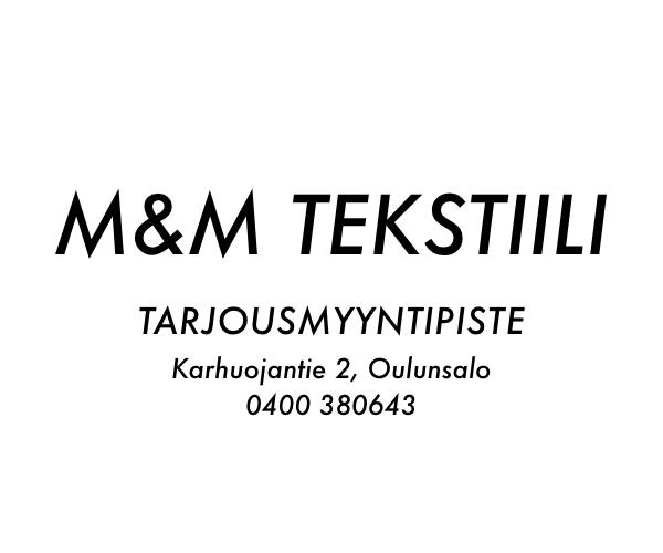 M&M Tekstiili - Kauppakeskus Kapteeni
